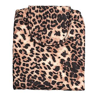 Practical Spreadable Toiletbag - Leopard