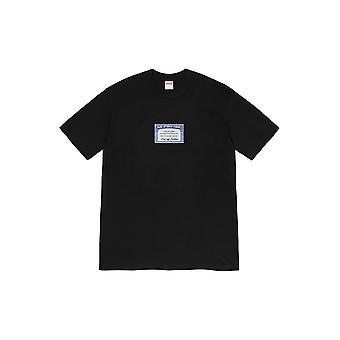 Supreme Social Tee Black - Clothing