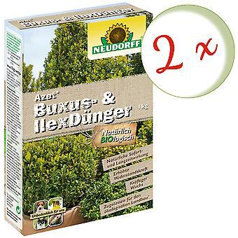 Sparset: 2 x NEWDORFF Ace® Buxus & Ilex Lannoite, 1 kg