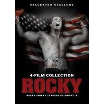 Rocky 4-Film Collection [DVD] USA import