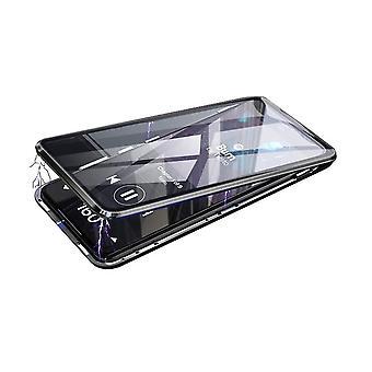 Mobiilikotelo karkaistussa lasissa yksityisyyden suoja - Samsung A50 - musta