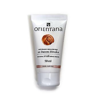 Natural Snail Hand Cream, 50Ml