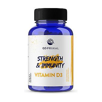 GoPrimal Vitamin D 3 - Immunity and Strength 120 capsules