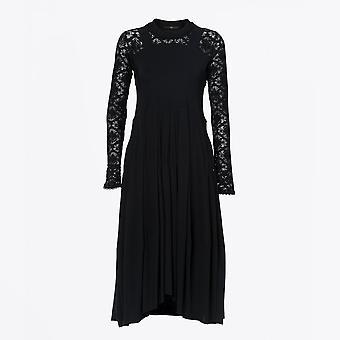 HIGH  - Mesmerize - Jersey Sensitive® Lace Dress - Black