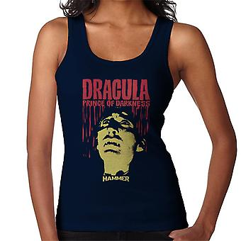 Gilet di martello Dracula Prince of Darkness poster donna