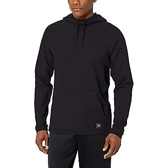 Peak Velocity Men's Francês Terry Pull-Over Athletic-fit Hoodie, preto, XXXX-L...
