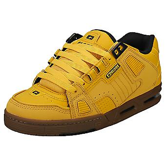 Globe Sabre Mens Skate Trainers in Wheat