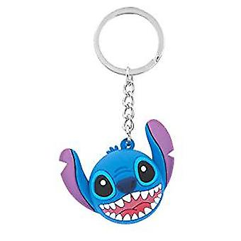 Icon Ball Key Chain - Disney - Stitch - Deluxe Key Ring New 85787