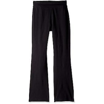 The Children's Place Big Girls' Yoga Pants, Black, Black 9059, Size X-Large/14