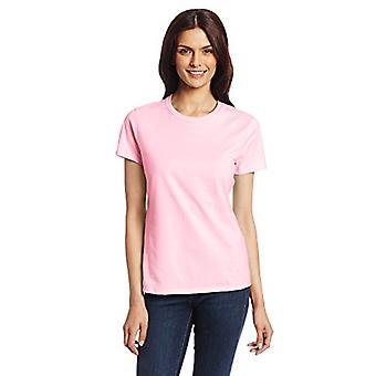 Hanes Women's Nano T-Shirt, Small, Pale Pink