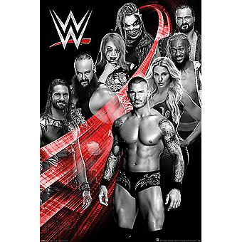 WWE Juliste Superstars Swoosh