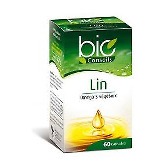 Capsules d'huiles de Lin 60 capsules
