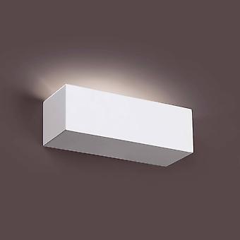 Faro Eaco-1 - 1 Light Indoor Small Wall Light White Plaster, G9