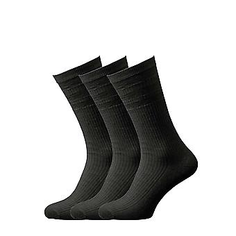Hj Hall Wide Fit Soft Top Wool Rich Socks