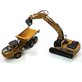 1:50 Dump Excavator Wheel Loader - Construction Vehicle