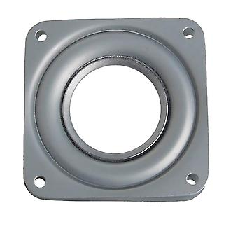 Ball Bearing Metal Swivel Plate - 72 X 72 X 9 Mm