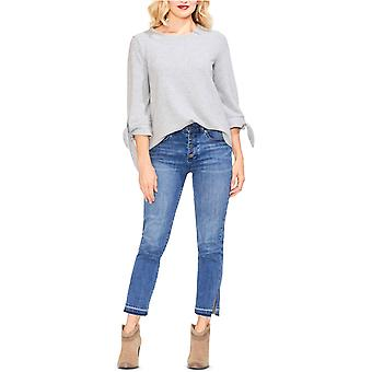 Vince Camuto | Tie-Sleeve Brushed Jersey Top