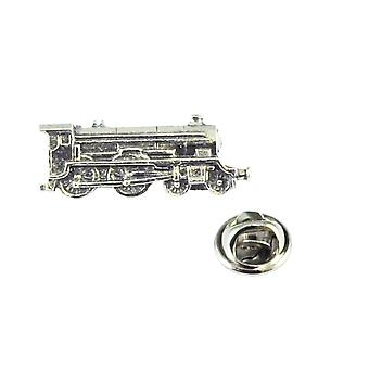 Ties Planet Steam Locomotive Pewter Lapel Pin Badge