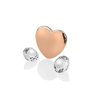 Anais Hot Diamonds Anais Rose Gold Plated Sterling Silver April Charm AC036