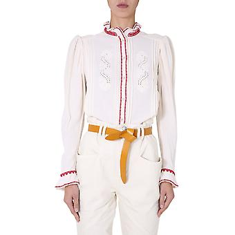 Isabel Marant ÉToile Ht183320a047e23ec Dames's White Cotton Shirt