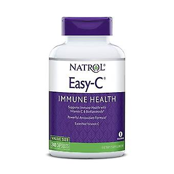 Natrol Easy-C with Bioflavonoids, 500 mg, 240 VCAP