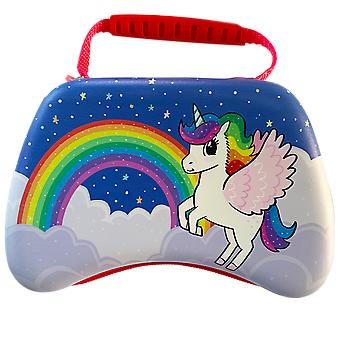 Unicorn vrienden gaming controller carry case (ps4 / xbox one / switch / stadia / pc)