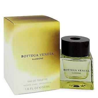 Bottega Veneta Illusione Eau De Toilette Spray By Bottega Veneta 1.6 oz Eau De Toilette Spray