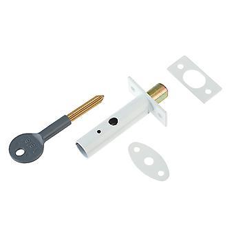Yale Locks PM444 Door Security Bolt White Finish Visi of 1 YALPM444WE