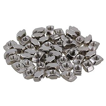 50x Hammer Head T Sliding Nut Drop In M4 for 20 Series European Aluminum Slot