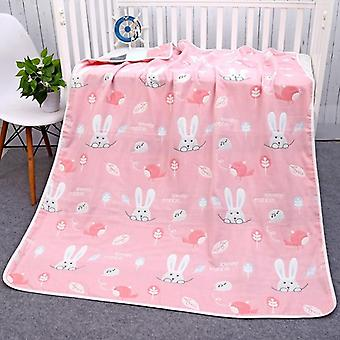 Newborn Summer Baby Cotton Blankets - 6 Layers Quilt Wrap