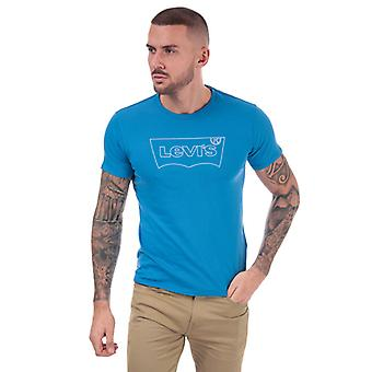 Men's Levis Housemark Graphic T-Shirt in blu