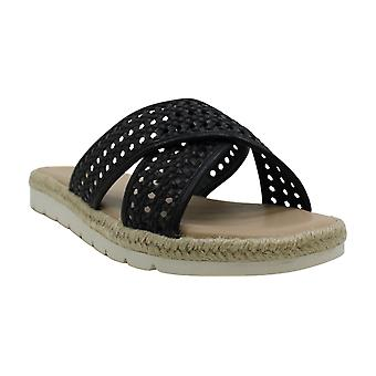 Easy Spirit Women's Shoes Tanner2 Fabric Open Toe Casual Slide Sandals