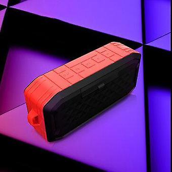 Bakeey bluetooth 5 Vedenpitävä kaiutin USB-muistitikun TF-kortilla