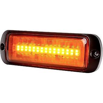 WAS Strobe light W218 1469 ECO 12 V DC, 24 V DC via in-car outlet Assembly, Screw mount Orange