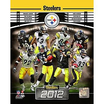 Pittsburgh Steelers 2012 Photo Composite Sports d'équipe