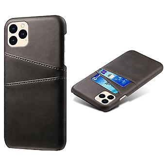 KSQ iPhone 12 Mini Shell med plads - Sort
