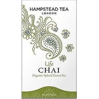 Hampstead Tea Organic Life Chai 40g - 20's x4