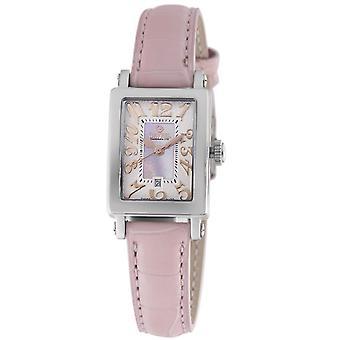 Gevril Women's 8048R Super Mini Quartz Parelmoer Dress Watch