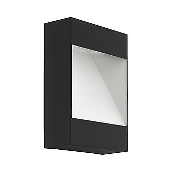 Eglo Mafria LED IP44 Outdoor Wall Light in antraciet