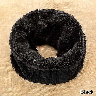 Casual Winter Ring Scarf For Fashion Neckerchief Knitted Thickened Snood