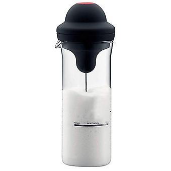 Milk Frother Electric Foamer, Coffee Foam Maker, Shake Mixer, Battery Jug Cup