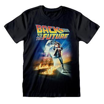भविष्य के पोस्टर टी शर्ट के लिए वापस
