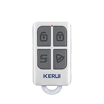 Wireless Remote Control With 4-buttons Keychain For Wifi Gsm/ Pstn Home