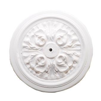 Dolls House Ornate Victorian Ceramic Ceiling Rose 1:12 Miniature Light Accessory