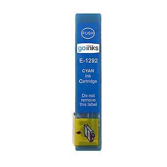 1 Cyan Ink Cartridge to replace Epson T1292 Compatible/non-OEM from Go Inks