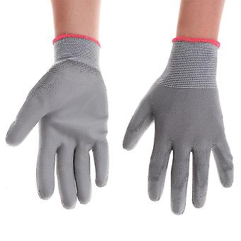 Cotton Yarn Garden Gloves, Protective Safety Gardening Mittens, Working Glove