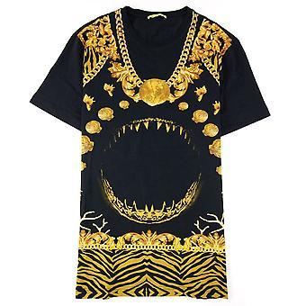 Versace Jeans Manarola S/s T Shirt Czarny