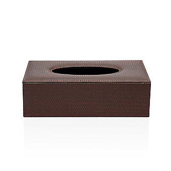 Tissue box artificial leather