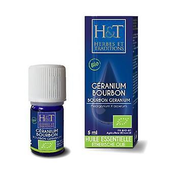 Órganic bourbon geranium essential oil 5 ml of essential oil