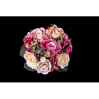 Bröllop brudtillbehör som håller blommor